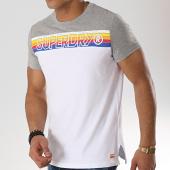 /achat-t-shirts/superdry-tee-shirt-cali-stripe-embroidery-m10104tt-blanc-gris-chine-173465.html