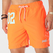 /achat-maillots-de-bain/superdry-short-de-bain-water-polo-orange-fluo-173467.html