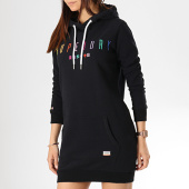 /achat-robes/superdry-robe-sweat-capuche-femme-rainbow-tape-g80142tt-noir-173566.html