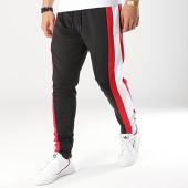 /achat-pantalons-joggings/terance-kole-pantalon-jogging-avec-bandes-88036-noir-blanc-rouge-173593.html