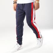 /achat-pantalons-joggings/terance-kole-pantalon-jogging-avec-bandes-88036-bleu-marine-blanc-rouge-173600.html