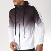 /achat-sweats-zippes-capuche/terance-kole-sweat-zippe-capuche-98179-noir-degrade-blanc-173604.html