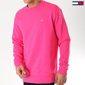 /achat-sweats-col-rond-crewneck/tommy-jeans-sweat-crewneck-classics-5496-rose-173425.html