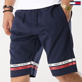 /achat-shorts-jogging/tommy-hilfiger-jeans-short-jogging-stripes-6037-bleu-marine-173435.html