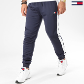 /achat-pantalons-joggings/tommy-sport-pantalon-jogging-avec-bandes-flag-0062-bleu-marine-blanc-173444.html