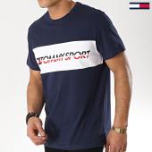 /achat-t-shirts/tommy-sport-tee-shirt-logo-driver-0082-bleu-marine-173445.html
