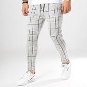 /achat-pantalons-carreaux/uniplay-pantalon-carreaux-upp37-gris-chine-noir-173439.html