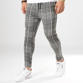 /achat-pantalons-carreaux/uniplay-pantalon-carreaux-upp37-gris-anthracite-chine-noir-173440.html