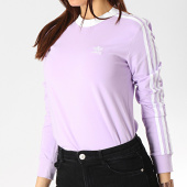 /achat-t-shirts-manches-longues/adidas-tee-shirt-manches-longues-femme-3-stripes-dv2618-lilas-173829.html