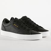 /achat-baskets-basses/adidas-baskets-femme-sleek-cg6193-core-black-footwear-white-173844.html