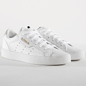 /achat-baskets-basses/adidas-baskets-femme-sleek-db3258-footwear-white-crystal-white-173846.html