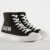 /achat-baskets-montantes/calvin-klein-baskets-iacopo-canvas-s0597-black-173855.html