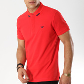 /achat-polos-manches-courtes/emporio-armani-polo-manches-courtes-211804-9p461-rouge-173612.html