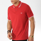 /achat-polos-manches-courtes/fred-perry-polo-manches-courtes-twin-tipped-m3600-rouge-blanc-173633.html