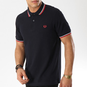 /achat-polos-manches-courtes/fred-perry-polo-manches-courtes-twin-tipped-m3600-bleu-marine-blanc-rouge-173648.html