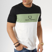 /achat-t-shirts/fred-perry-tee-shirt-embroidered-m4516-blanc-noir-vert-173652.html