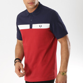 /achat-polos-manches-courtes/fred-perry-polo-manches-courtes-contrast-panel-m5577-bordeaux-blanc-bleu-marine-173660.html