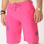 /achat-maillots-de-bain/geographical-norway-short-de-bain-patchs-brodes-quaractere-rose-173622.html