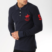 /achat-polos-manches-longues/geographical-norway-polo-manches-longues-kampai-rouge-bleu-marine-173699.html