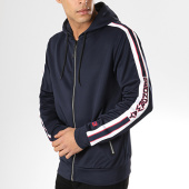 /achat-sweats-zippes-capuche/geographical-norway-sweat-zippe-capuche-avec-bandes-gorland-bleu-marine-173734.html