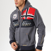 /achat-sweats-zippes-capuche/geographical-norway-sweat-capuche-zippe-flyer-gris-anthracite-173750.html