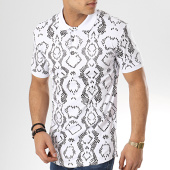 /achat-polos-manches-courtes/ikao-polo-manches-courtes-oversize-f435-blanc-173706.html