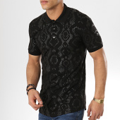 /achat-polos-manches-courtes/ikao-polo-manches-courtes-oversize-f435-noir-173739.html