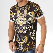 /achat-t-shirts-longs-oversize/aarhon-tee-shirt-oversize-91128-noir-jaune-174140.html