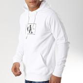 /achat-sweats-capuche/calvin-klein-sweat-capuche-box-monogram-3090-blanc-174066.html