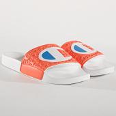 /achat-claquettes-sandales/champion-claquettes-femme-multi-lido-s10580-ps013-saumon-blanc-174141.html