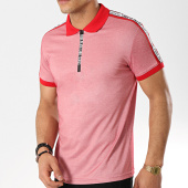 /achat-polos-manches-courtes/classic-series-polo-manches-courtes-avec-bandes-434-rouge-174080.html