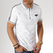 /achat-polos-manches-courtes/classic-series-polo-manches-courtes-avec-bandes-423-blanc-174082.html