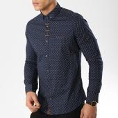 /achat-chemises-manches-longues/black-needle-chemise-manches-longues-3386-bleu-marine-174097.html
