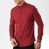 /achat-chemises-manches-longues/black-needle-chemise-manches-longues-3386-bordeaux-174098.html
