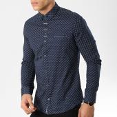 /achat-chemises-manches-longues/black-needle-chemise-manches-longues-3386-bleu-marine-174100.html