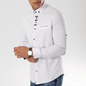 /achat-chemises-manches-longues/black-needle-chemise-manches-longues-3386-blanc-174101.html