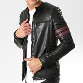 /achat-vestes/classic-series-veste-zippee-avec-bandes-m4003-noir-174157.html