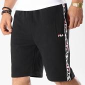 /achat-shorts-jogging/fila-short-jogging-avec-bandes-tristan-687021-noir-blanc-173983.html