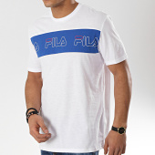 /achat-t-shirts/fila-tee-shirt-aki-logo-687129-blanc-bleu-roi-174104.html