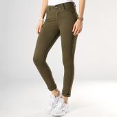 /achat-pantalons-carreaux/girls-only-pantalon-femme-uni-vert-kaki-173964.html