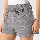 /achat-shorts-jogging/girls-only-short-carreaux-femme-1903-gris-noir-rouge-173975.html