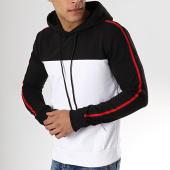 /achat-sweats-capuche/mtx-sweat-capuche-avec-bandes-tm0053-noir-blanc-rouge-173861.html