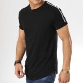 /achat-t-shirts-longs-oversize/mtx-tee-shirt-oversize-avec-bandes-tm0056-noir-173884.html