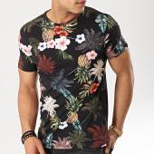 /achat-t-shirts/mtx-tee-shirt-tm0085-noir-floral-173962.html
