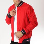 /achat-vestes/mz72-veste-zippee-bark-rouge-174162.html