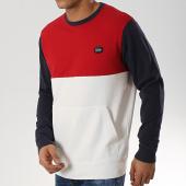 /achat-sweats-col-rond-crewneck/petrol-industries-sweat-crewneck-344-blanc-rouge-bleu-marine-174053.html