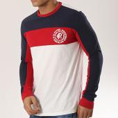 /achat-t-shirts-manches-longues/petrol-industries-tee-shirt-manches-longues-691-blanc-bleu-marine-rouge-174062.html