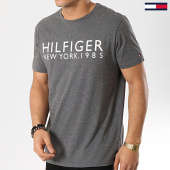 /achat-t-shirts/tommy-hilfiger-jeans-tee-shirt-logo-1172-gris-anthracite-chine-173919.html