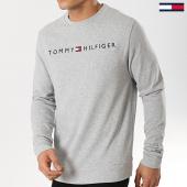 /achat-sweats-col-rond-crewneck/tommy-hilfiger-jeans-sweat-crewneck-track-1209-gris-chine-173923.html