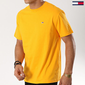 /achat-t-shirts/tommy-hilfiger-jeans-tee-shirt-classic-6061-jaune-173948.html